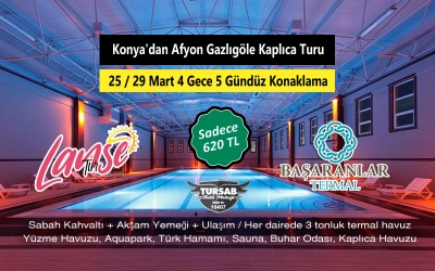 Afyon Gazlıgöle 25-29 March from the Thermal Spa Tour